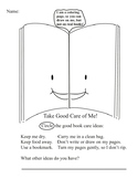 Take Good Care of Me! Printable/Library Book Care