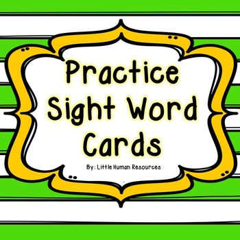 Take Home 107 Zeno Sight Words