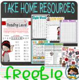 Take Home 2nd Grade Resources (Binder)