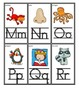 Small Take Home Student Alphabet Cards and Alphabet Chart