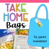 Take Home Book and Activities Bags