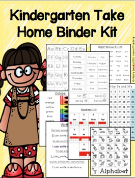 Take Home Binder