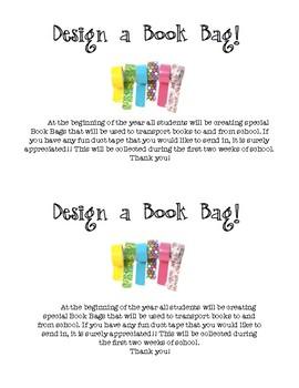 Take Home Book Bag