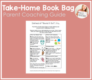 Take-Home Book Bag Parent Resource!