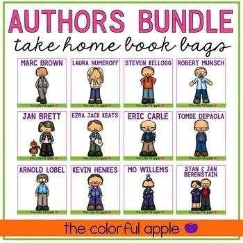 Take Home Book Bags: Authors Bundle