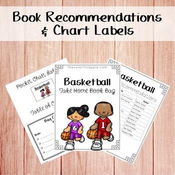 Take Home Book Bags: Basketball
