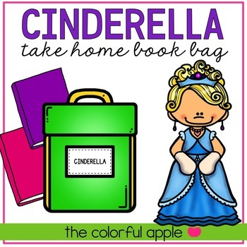 Take Home Book Bags: Cinderella