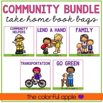 Take Home Book Bags: Community Bundle