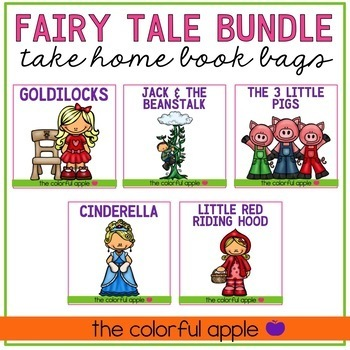 Take Home Book Bags: Fairy Tale Bundle