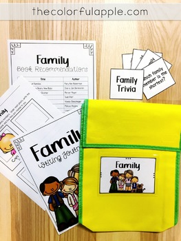 Take Home Book Bags: Family