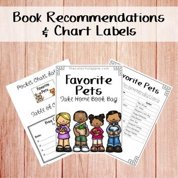 Take Home Book Bags: Pets