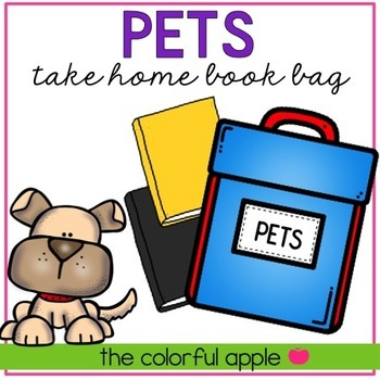 Take Home Book Bags: Pets