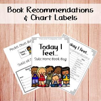 Take Home Book Bags: Feelings