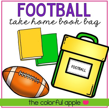 Take Home Book Bags: Football