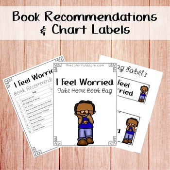 Take Home Book Bags: I Feel Worried