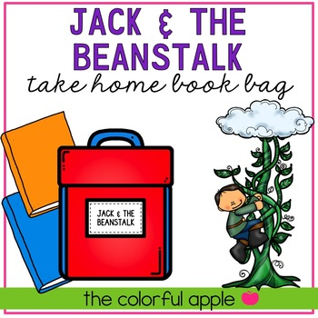 Take Home Book Bags: Jack & the Beanstalk