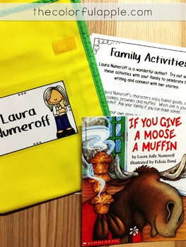Take Home Book Bags: Laura Numeroff