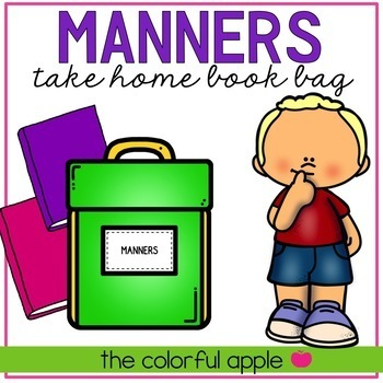 Take Home Book Bags: Manners