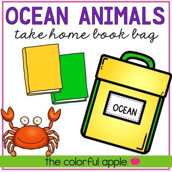 Take Home Book Bags: Ocean Animals