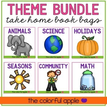 Take Home Book Bags: Thematic Bundle