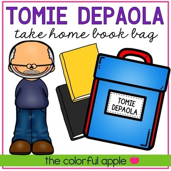 Take Home Book Bags: Tomie dePaola