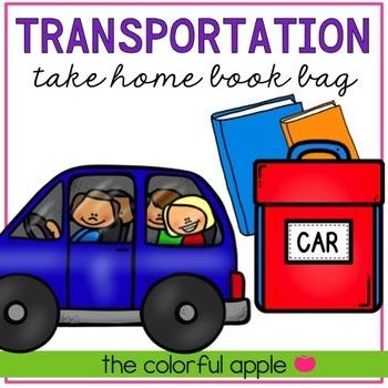 Take Home Book Bags: Transportation