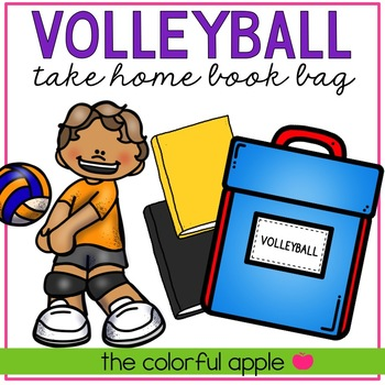 Take Home Book Bags: Volleyball