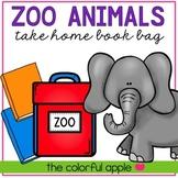 Take Home Book Bags: Zoo Animals