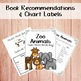 Take Home Book Bags: Zoo Animals