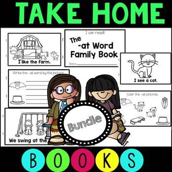 46 Take Home Books - A Beginning Reading Bundle!