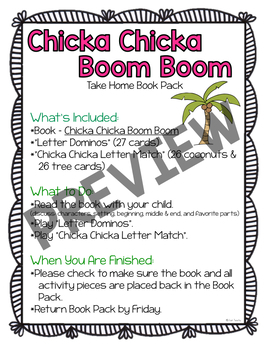 Take Home Book Packs with Math & Literacy Book Extensions