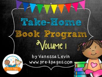 Take Home Book Program for Pre-K and Kindergarten vol. 1