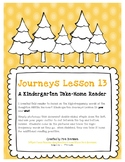 Take-Home Book for Journeys Lesson 13