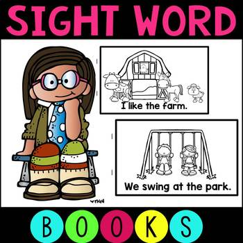 Take Home Books - Sight Words