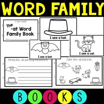 Take Home Books - Word Families