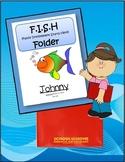 Take Home Communication Folder Cover Sheet