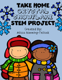 Take-Home Crystal Snowflake STEM Gift for Students