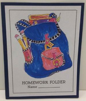 Take Home Folder