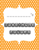Take-Home Folder Cover