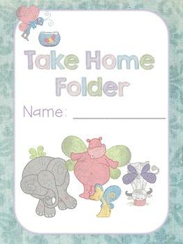 Take Home Folder Cover *FREEBIE*