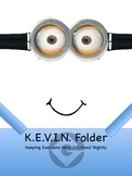 Take Home Folder Cover MINION THEME