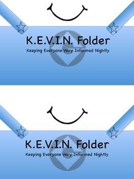 Take Home Folder Cover MINION THEME