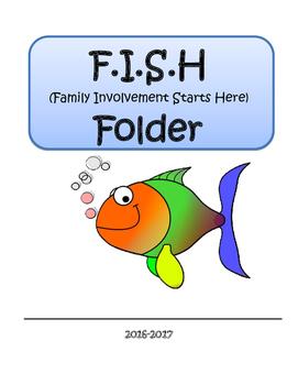 Take Home Folder Cover Sheet