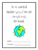 Take Home Folder Cover/ Student Binder Cover