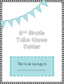 Take Home Folder Cover