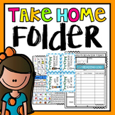 Take Home Folder {Editable Sweet Kids Theme}