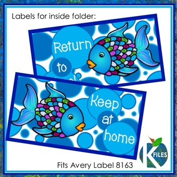 Take Home Folder | FISH Folder: Family Involvement Starts Here