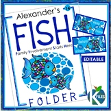 Take Home Folder: FISH Folder: Family Involvement Starts Here