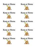 Take Home Folder Labels-Keep at Home