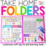 Take Home Folder   Learning Folder   Print & Digital for Google